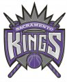 Sacramento Kings Plastic Effect Logo decal sticker