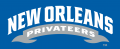 New Orleans Privateers 2013-Pres Wordmark Logo 05 iron on sticker