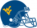 West Virginia Mountaineers 1980-Pres Helmet Logo iron on sticker