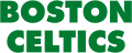 Boston Celtics 1976 77-Pres Wordmark Logo 01 decal sticker