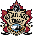 NHL Heritage Classic 2010-2011 Logo iron on sticker