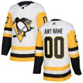 Pittsburgh Penguins Custom Letter and Number Kits for White Jersey