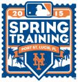 New York Mets 2015 Event Logo iron on sticker