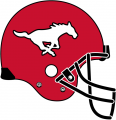 Calgary Stampeders 1995-2012 Helmet Logo decal sticker