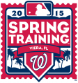 Washington Nationals 2015 Event Logo decal sticker