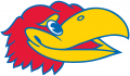 Kansas Jayhawks 1946-Pres Partial Logo iron on sticker