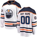 Edmonton Oilers Custom Letter and Number Kits for White Jersey