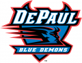 DePaul Blue Demons 1999-Pres Primary Logo iron on sticker