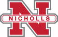 Nicholls State Colonels 2005-Pres Alternate Logo iron on sticker
