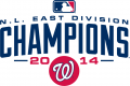 Washington Nationals 2014 Champion Logo decal sticker