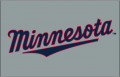 Minnesota Twins 2010-Pres Jersey Logo iron on sticker