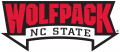 North Carolina State Wolfpack 2006-Pres Wordmark Logo 01 decal sticker