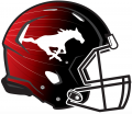 Calgary Stampeders 2015-2018 Helmet Logo decal sticker