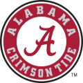 Alabama Crimson Tide 2004-Pres Primary Logo iron on sticker