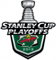 Minnesota Wild 2012 13 Event Logo decal sticker