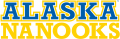 Alaska Nanooks 2000-Pres Wordmark Logo 02 decal sticker