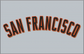 San Francisco Giants 2005-Pres Jersey Logo decal sticker