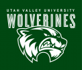 Utah Valley Wolverines 2012-Pres Alternate Logo 01 iron on sticker