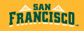 San Francisco Dons 2012-Pres Wordmark Logo 10 decal sticker
