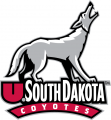 South Dakota Coyotes 2004-2011 Secondary Logo 01 iron on sticker