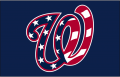 Washington Nationals 2017-2019 Cap Logo decal sticker