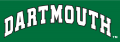 Dartmouth Big Green 2000-Pres Wordmark Logo 03 iron on sticker