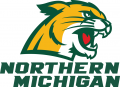 Northern Michigan Wildcats 2016-Pres Alternate Logo 02 iron on sticker