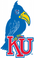 Kansas Jayhawks 1920-1922 Primary Logo iron on sticker