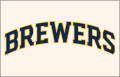 Milwaukee Brewers 2020-Pres Jersey Logo 02 iron on sticker