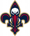 New Orleans Pelicans 2013-2014 Pres Secondary Logo 3 iron on sticker