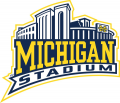 Michigan Wolverines 2000-Pres Stadium Logo iron on sticker