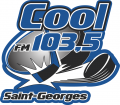 Saint-Georges Cool-FM 103.5 2010 11-2012 13 Primary Logo decal sticker
