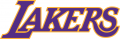 Los Angeles Lakers 2001-2002 Pres Wordmark Logo iron on sticker