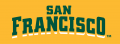 San Francisco Dons 2012-Pres Wordmark Logo 09 decal sticker