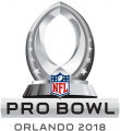Pro Bowl 2018 Logo iron on sticker