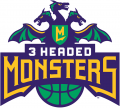 3 Headed Monsters 2017-Pres Primary Logo iron on sticker