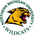 Northern Michigan Wildcats 1993-2015 Primary Logo iron on sticker