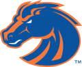 Boise State Broncos 2002-2012 Secondary Logo decal sticker