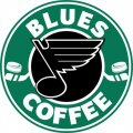 St. Louis Blues Starbucks Coffee Logo iron on sticker