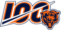Chicago Bears 2019 Anniversary Logo decal sticker