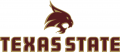 Texas State Bobcats 2008-Pres Secondary Logo decal sticker