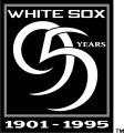 Chicago White Sox 1995 Anniversary Logo 02 decal sticker