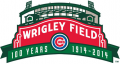 Chicago Cubs 2014 Anniversary Logo decal sticker