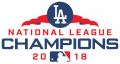 Los Angeles Dodgers 2018 Champion Logo decal sticker