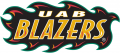 UAB Blazers 1996-2014 Wordmark Logo decal sticker