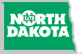 North Dakota Fighting Hawks 2012-2015 Alternate Logo 05 iron on sticker