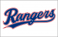 Texas Rangers 2020-Pres Jersey Logo 02 iron on sticker