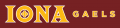 Iona Gaels 2013-Pres Alternate Logo 04 iron on sticker