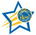 Golden State Warriors Basketball Goal Star logo iron on sticker