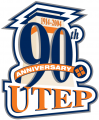UTEP Miners 2004 Anniversary Logo decal sticker